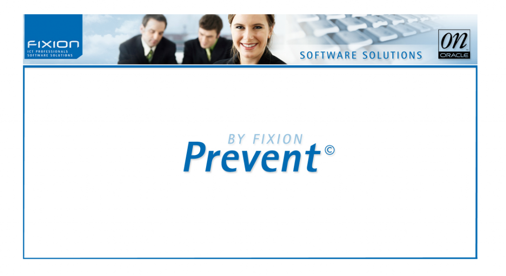 Fixion software Prevent